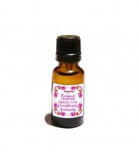 Aceite humidificador y brumizador Rosas y Lavanda